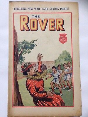 DC Thompson. THE ROVER Wartime Comic. April 5th 1941 Issue 990 *FREE UK POSTAGE*