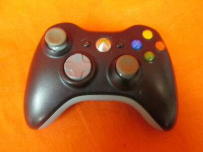 Authentic Official Wireless Controller Matte Black Microsoft Xbox 360 7541