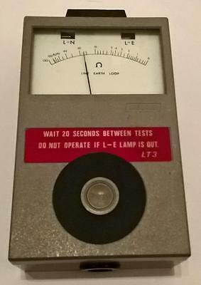 Megger LT3 Line Earth Tester + Case