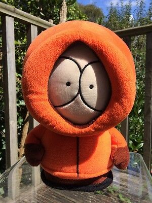 "Kenny Plush South Park Soft Toy Hooded Orange Large 12"" 32cm TV Merch"