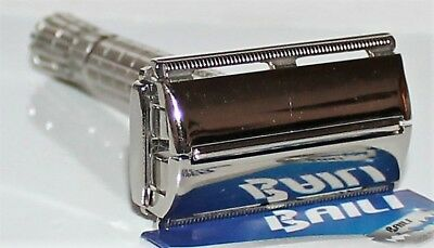 Vintage Gillette 1954 Super-Speed Double Edge Safety Razor Z-3 Very Nice