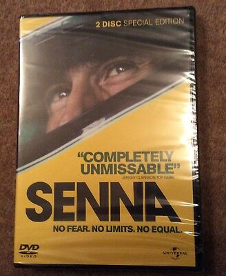 Senna 2 Disc DVD Special Edition  Sealed in box