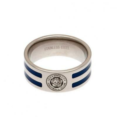 Official Leicester City F.C. Colour Stripe Ring Large Xmas Football Gift