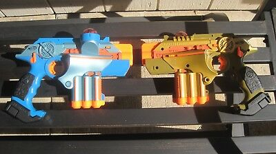 Nerf Lazertag Deluxe Lazer Tag Phoenix LTX Tagger Complete 2 Player System