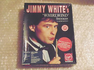 Atari St Jimmy White's Whirlwind Snooker Virgin Interactive 1991 Limited Edition