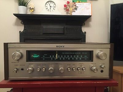 Sony STR-7025 Receiver and Vintage Headphones
