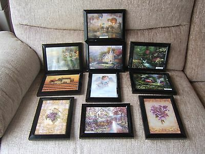 10 x BEAUTIFUL OLD COTTAGE QUALITY PICTURE PRINTS 12 x 17 cm FOR ALL THE FAMILY