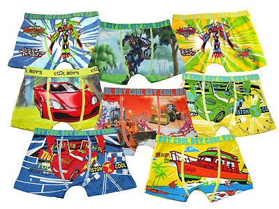 8 jungen kinder boxershorts unterhosen unterw sche eur. Black Bedroom Furniture Sets. Home Design Ideas