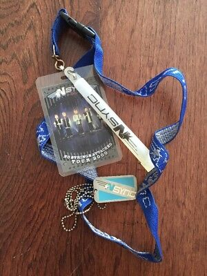 NSync Tour Lanyard Lot 2000 NSA