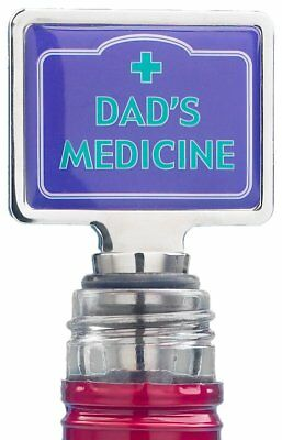 Boxer Gifts Dad's Medicine Novelty Wine Bottle Stopper