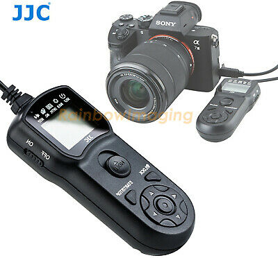 JJC LCD Timer Remote AS SONY multi interface connector A6500 A6300 A5100 A3000