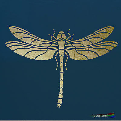 Dragonfly Stencil Template: : Scrapbooking, Airbrushing, Art: ST9