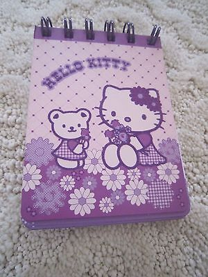Hello Kitty purple notepad New