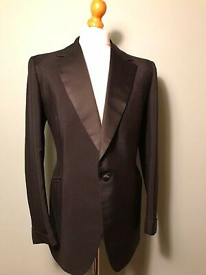 Vintage Cyril A Castle bespoke Savile Row dinner suit size 40 42