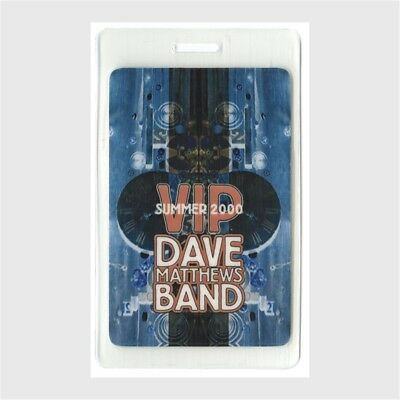 Dave Matthews Band authentic 2000 concert tour Laminated Backstage Pass original
