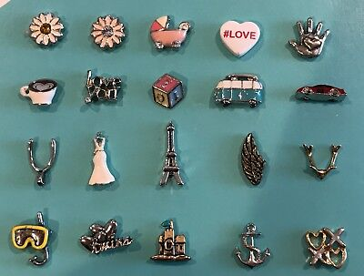 Authentic Origami Owl Charms New 400 Picclick