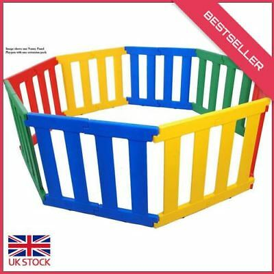 TikkTokk Nanny Panel Playpen Extension Pack (multi-Coloured)