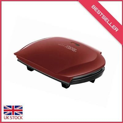 George Foreman 18872 Five Portion Family Grill - Red