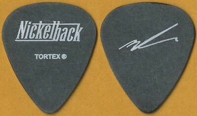 Nickelback Mike Kroeger authentic 2003 Long Road tour signature Guitar Pick