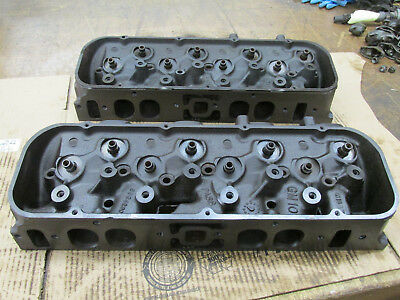 1970 Chevy BBC 396 402 427 454 Oval Port Heads 3964290 290 C-10-70  C-13-70