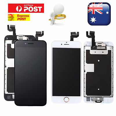 iPhone 6s/6/6 Plus 6 Complete Touch Screen Replacement LCD Digitizer Home Button