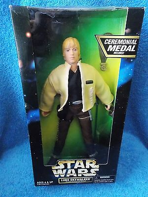 "Star Wars  Luke Skywalker In Ceremonial Gear  12"" Action Figure Doll"