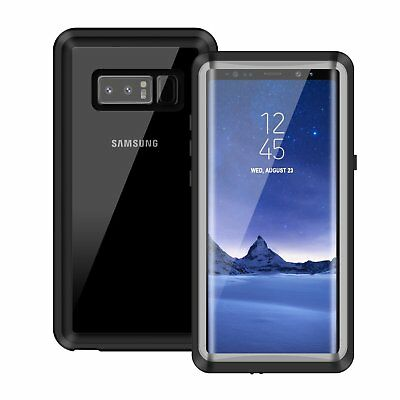 For Samsung Galaxy Note 8 Waterproof Case Heavy Dirt Shock Proof Grease Cover