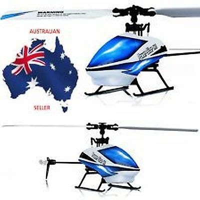 V977 6CH RC 2.4GHz Gyroscope Helicopter Brushless Flybarless 3D Aircraft