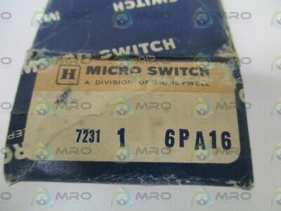 Microswitch 6Pa16 Basic Switc Accessory *new In Box*