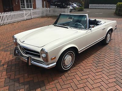 Mercedes 280Sl Pagoda 1970 Automatic White With 2 Tops