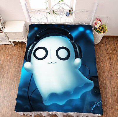 Bed sheet NEW Anime Undertale Micro Fiber Blanket sheet 150*200cm #517