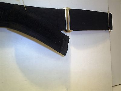 kids black school   belts with hook and loop fastening  22 to 27 inch