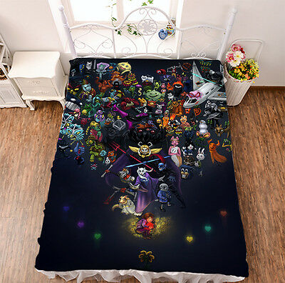 Bed sheet Micro Fiber Blanket Anime Undertale Otaku sheet 150*200cm #460