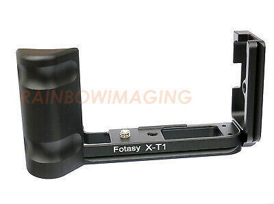Quick Release L-Bracket Mount Camera Grip For FUJIFILM X-T1 XT1 Arca Swiss