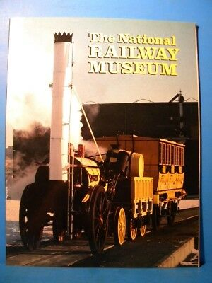 National Railway Museum British 1982 Soft Cover London Many photos.