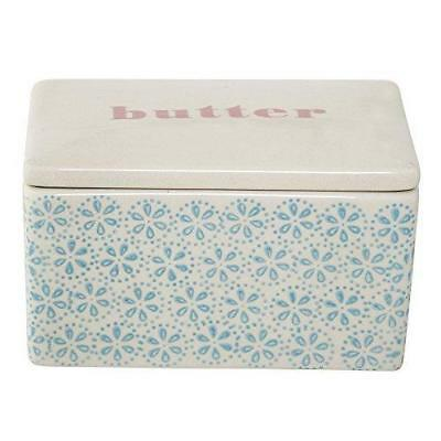 New Bloomingville Tableware Patrizia Butter Box, Blue