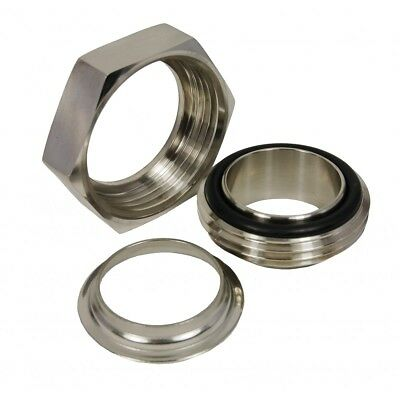 "1"" - 4"" Rjt Union Weld S/s (Male, Nut, Liner & Nitrile Seal) 316/304 Gr"
