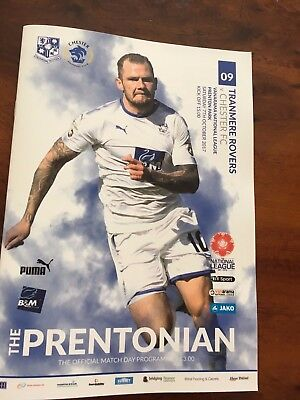 TRANMERE ROVERS v CHESTER FC  2017/18