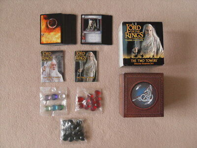 The Lord Of The Rings - The Two Towers Trading Card Game Deluxe Starter Box Set