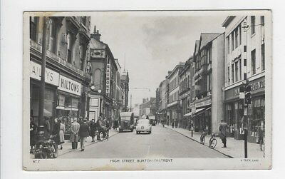High Street, Burton-on-Trent - Tuck's No.BT7
