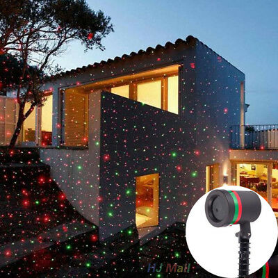 Christmas laser lights Xmas Laser Red/Green Garden Stage Christmas Party Decor