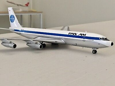 "Pan Am Boeing 707/300 Cargo N457PA "" jet Clipper Phoenix "" ✅by Inflight200 RARE"