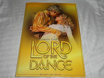 Michael Flatley Lord of the Dance Tour Program with Poster