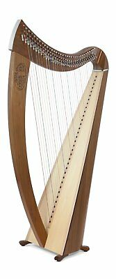 Camac Janet Harp with 34 Strings In Walnut
