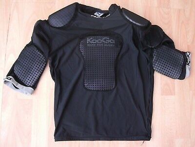 Kooga Body Armour Padded Shoulders Chest Arms Shirt Jersey Top Large Adult