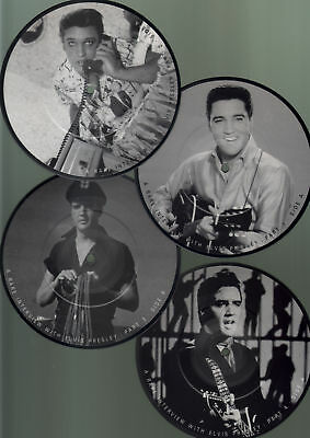 PRESLEY ELVIS - Interview picture disc collection 1956