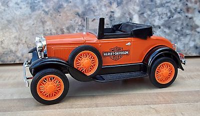 Liberty Classics Harley Davidson 1929 Model A Roadster Coin Bank Diecast Ford