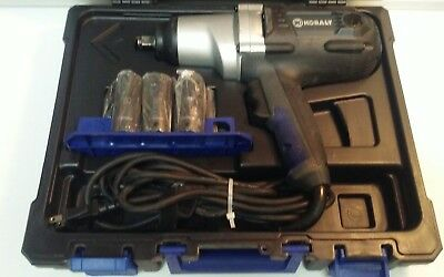 "(F) Kobalt Tools 6904 1/2"" Drive 120 Volt Impact Wrench Kit (T-13175)"