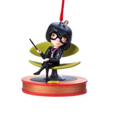 Edna Mode Talking Hanging Ornament, The Incredibles NEW