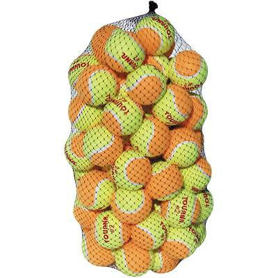 Unique Sports Tourna Low Compression Stage 2 Tennis Ball-60 Pack